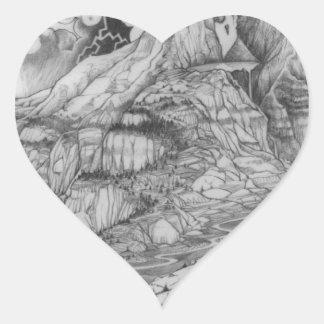 Adesivo Coração Uma página 52 da ÁRVORE de MIGHYTY
