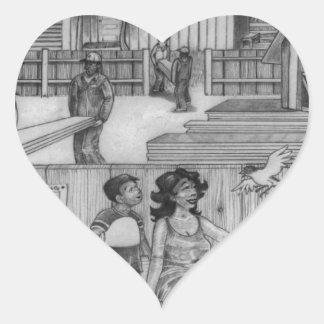 Adesivo Coração Uma página PODEROSA 24 da ÁRVORE