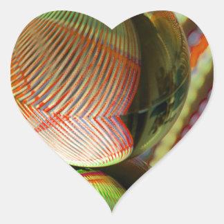 Adesivo Coração Variação em um tema 2