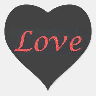 Adesivo Coração Vive o amor do riso