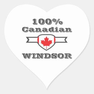 Adesivo Coração Windsor 100%