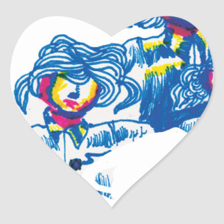 Adesivo Coração wondercrowd-tentáculos