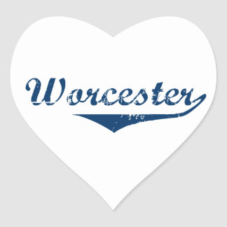 Adesivo Coração Worcester