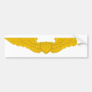 Adesivo da Aviação Civil MaR 2010