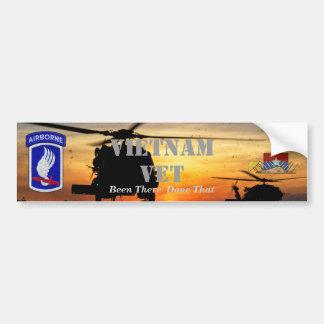 Adesivo De Para-choque 173rd guerra transportada por via aérea do nam de