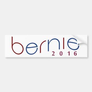 Adesivo De Para-choque 2016 máquinas de lixar de Bernie vermelhas,