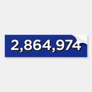 ADESIVO DE PARA-CHOQUE 2.864.974