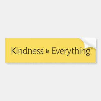 Adesivo De Para-choque A bondade é tudo #01
