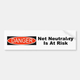 Adesivo De Para-choque A neutralidade líquida é em risco