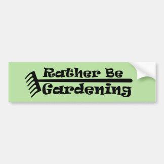 Adesivo De Para-choque A preferencialmente esteja jardinando