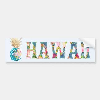 Adesivo De Para-choque Abacaxi de PixDezines Havaí