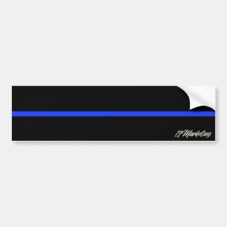 Adesivo De Para-choque Agente da polícia fino do autocolante no vidro