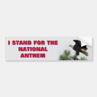 Adesivo De Para-choque Águia americana que norte-americana eu represento