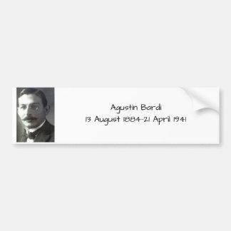 Adesivo De Para-choque Agustin Bardi