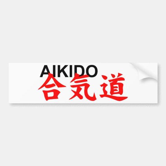 Adesivo De Para-choque aikido