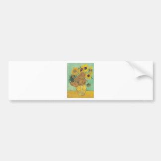 Adesivo De Para-choque Ainda vida: Girassóis - Vincent van Gogh