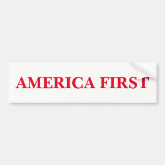Adesivo De Para-choque América primeiramente