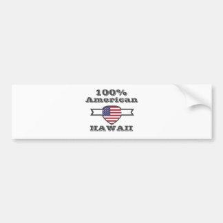 Adesivo De Para-choque Americano de 100%, Havaí