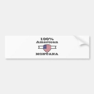 Adesivo De Para-choque Americano de 100%, Montana
