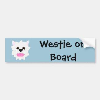 Adesivo De Para-choque Amor de Westie