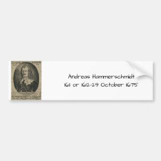 Adesivo De Para-choque Andreas Hammerschmidt