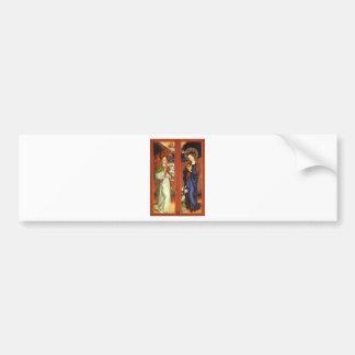 Adesivo De Para-choque Arcanjo Gabriel - aviso - Schongauer