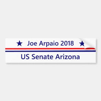 Adesivo De Para-choque Arizona 2018 do Senado de Joe Arpaio E.U.