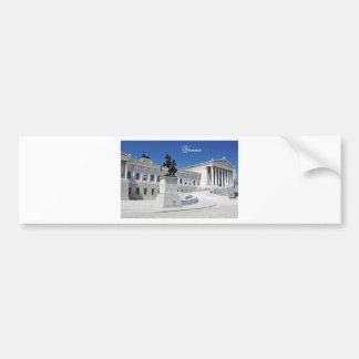 Adesivo De Para-choque Arquitetura em Viena, Áustria