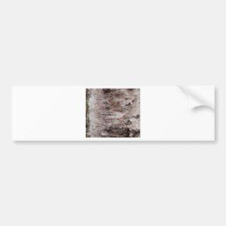Adesivo De Para-choque arte branca escamoso do latido