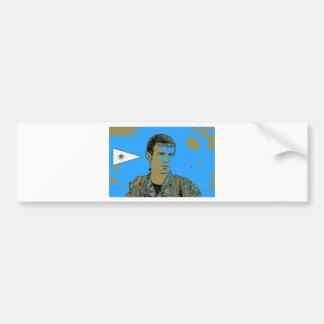 Adesivo De Para-choque Arte curdo 4 do lutador de YPG