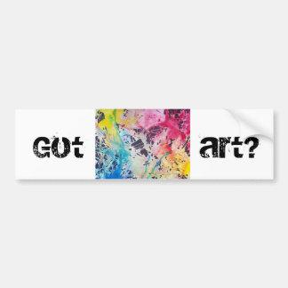 Adesivo De Para-choque Arte obtida?