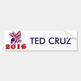 Adesivo De Para-choque Arte política de Ted Cruz Eagle