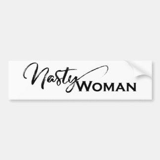 Adesivo De Para-choque Artigos elegantes das mulheres desagradáveis