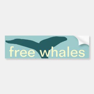 Adesivo De Para-choque as baleias