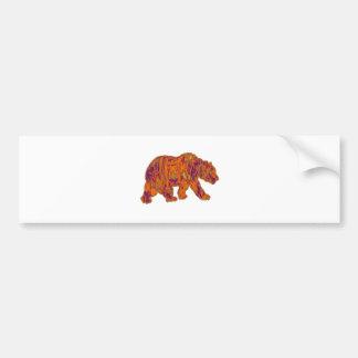 Adesivo De Para-choque As necessidades simples do urso