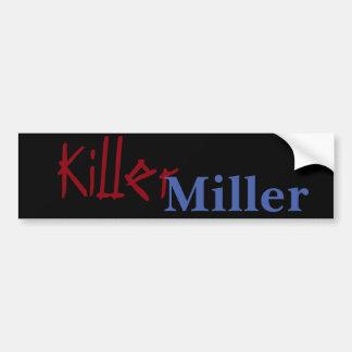 Adesivo De Para-choque Assassino Miller