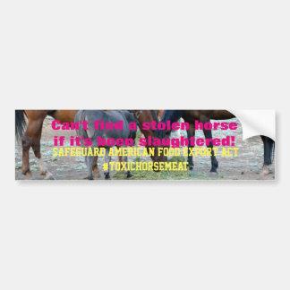 Adesivo De Para-choque Ato americano HR113 das exportações da comida da
