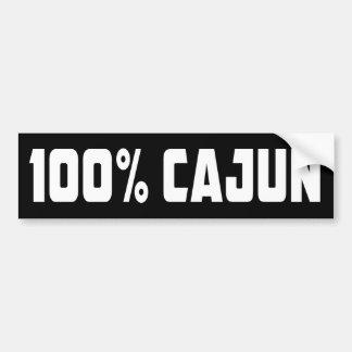Adesivo De Para-choque Autocolante no vidro traseiro 100% de Cajun