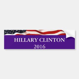 Adesivo De Para-choque Autocolante no vidro traseiro 2016 de Hillary