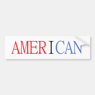 Adesivo De Para-choque Autocolante no vidro traseiro americano