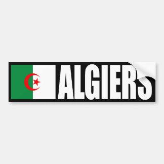Adesivo De Para-choque Autocolante no vidro traseiro da bandeira de Argel