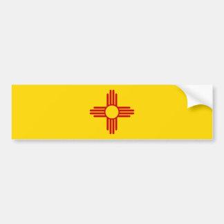 Adesivo De Para-choque Autocolante no vidro traseiro da bandeira de New