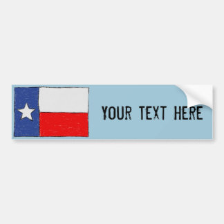Adesivo De Para-choque Autocolante no vidro traseiro da bandeira de Texas