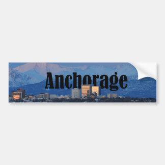 Adesivo De Para-choque Autocolante no vidro traseiro de Anchorage Alaska