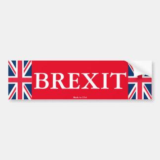 Adesivo De Para-choque Autocolante no vidro traseiro de Brexit