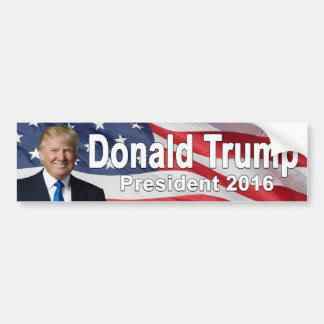 Adesivo De Para-choque Autocolante no vidro traseiro de Donald Trump