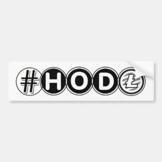 Adesivo De Para-choque Autocolante no vidro traseiro de Litecoin do #HODL