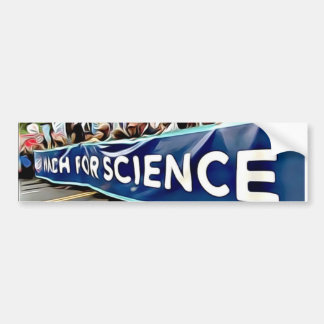 Adesivo De Para-choque Autocolante no vidro traseiro de março da ciência
