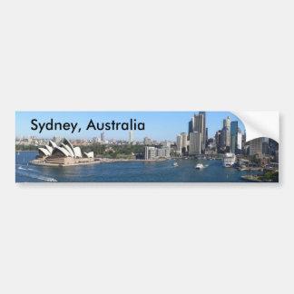 Adesivo De Para-choque Autocolante no vidro traseiro de Sydney, Austrália