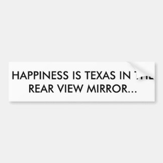 Adesivo De Para-choque Autocolante no vidro traseiro de Texas